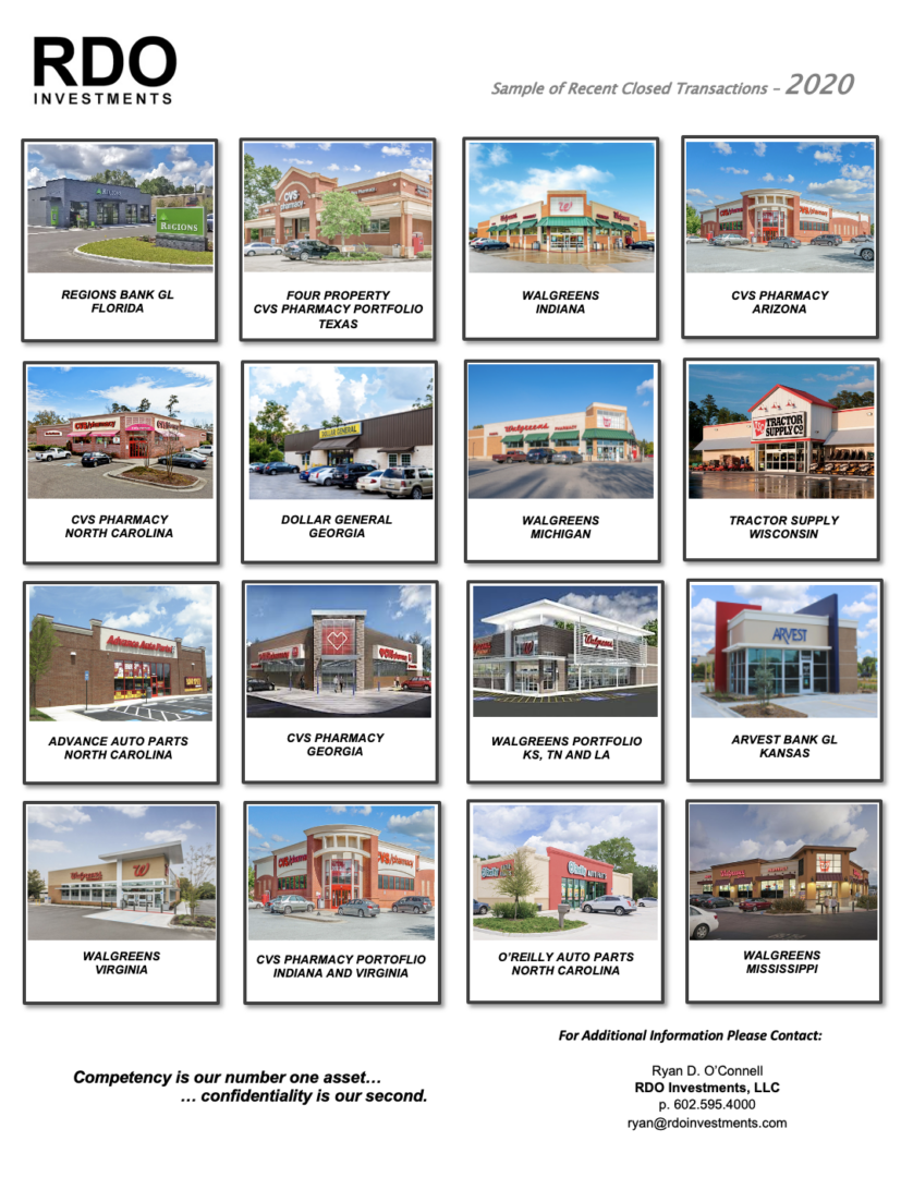 Different commercial properties